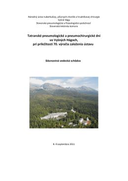 Národný ústav tuberkulózy, pľúcnych chorôb a