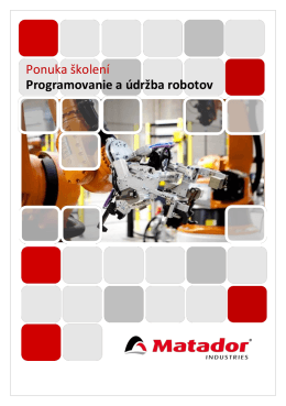 Základné programovanie robota KUKA