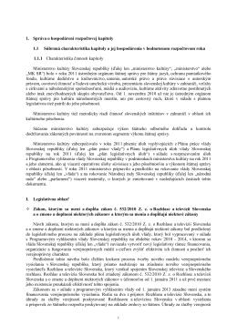 Podklady sekcie umenia a štátneho jazyka do návrhu štátneho
