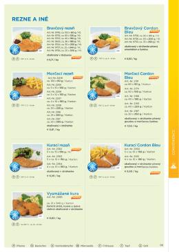 vegetariánske špeciality
