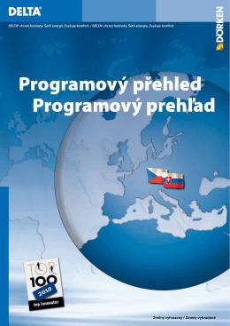 Programový přehled