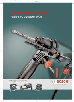 Katalóg Bosch-Hobby