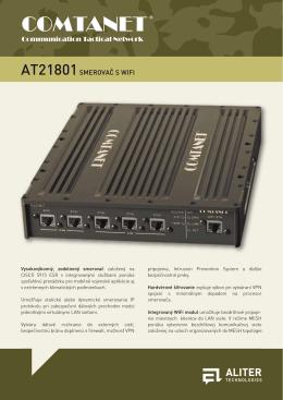 AT21801 Smerovač s WiFi