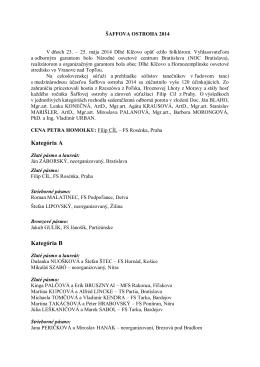 Výsledky a vyhodnotenie - Hornozemplínske osvetové stredisko