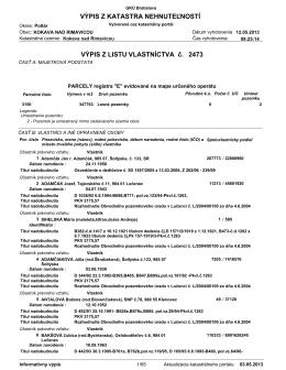 LV 2473 - Obec Šoltýska