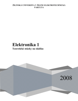 Elektronika 1 - hificars.wz.cz