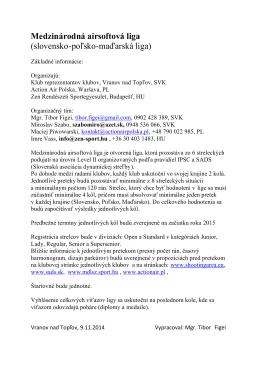 Medzinárodná airsoftová liga (slovensko-poľsko