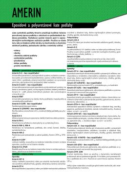 Všetky AMERIN výrobky v ponuke (pdf.)
