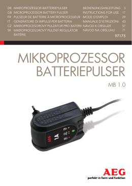 Mikroprozessor Batteriepulser