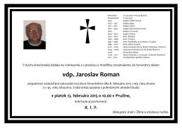 vdp. Jaroslav Roman