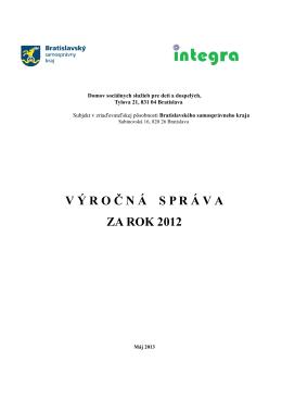 Výročná správa 2012