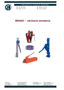 Brano - zdvíhacie zariadenia 1,5 MB