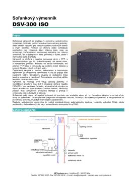 Solankový výmenník DSV 300 ISO (.pdf)