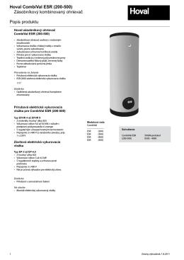 CombiVal ESR katalog