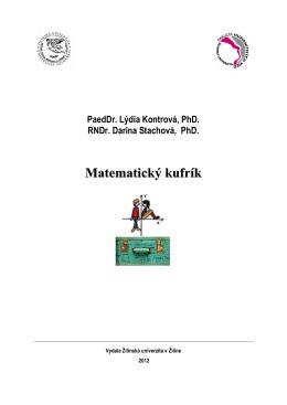 Matematický kufrík - kapitola 1