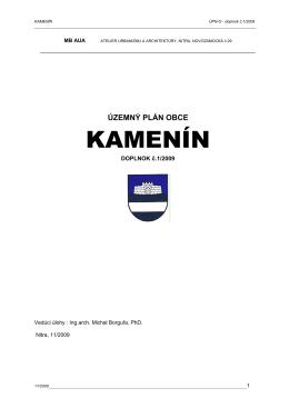 KAMENÍN - KST TEMPO Hliník nad Hronom