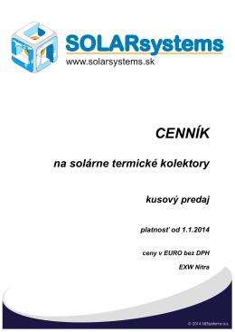 Produkt - SOLARsystems