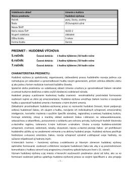 7.ročník - Základná Škola Dunajská Lužná