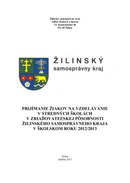 Žilinský samosprávny kraj - Základná škola s materskou školou