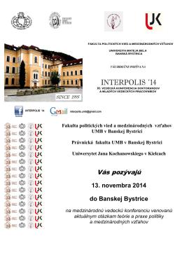 Fakulta politických vied a medzinárodných vzťahov Univerzity