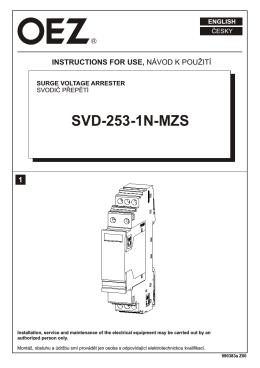 SVD-253-1N-MZS