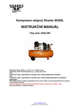MANUAL AIRCOMPRESSOR SH50L - Nářadí
