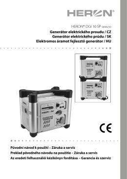 digitální elektrocentrála Heron DGI 10 SP
