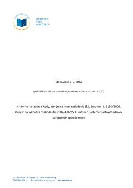 (ES, Euratom) č. 1150