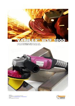 Varilex WSF 1800 - ABRASIVSERVIS sro