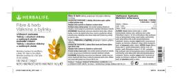 Fibre & herb Vláknina a bylinky