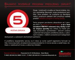 Baumatic_5rocna_zaruka