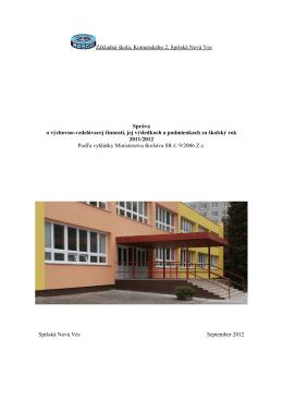 Základná škola, Komenského 2, Spišská Nová Ves