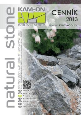 Cenník výrobkov 2013 - KAM-ON