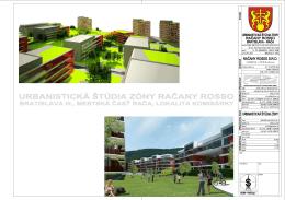 urbanistickej štúdie