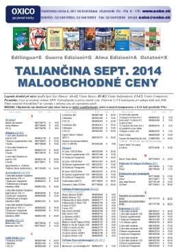 TALIANČINA SEPT. 2014