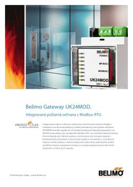 Belimo Gateway UK24MOD.