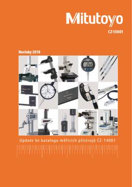 CZ-15001 Update ke katalogu měřicích přístrojů CZ