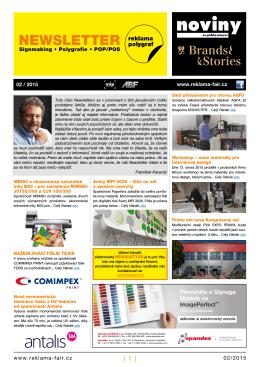 Newsletter 02/2015