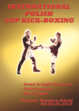 polish cup open kick-boxing