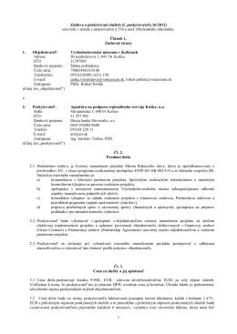 201216 - Agentúra na podporu regionálneho rozvoja Košice, no