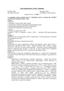 Zápisnica z 19.8.2013 - Čajkovského 13,15,17,19