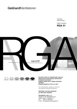 RGA 31-2528 - KlimaSystem