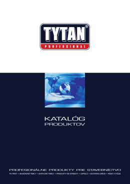 Katalóg - tytanpro.sk