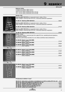 9 Rebríky