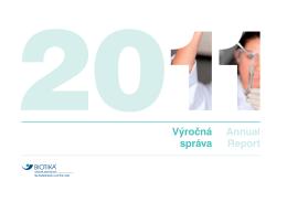 Annual Report Výročná správa - Ako