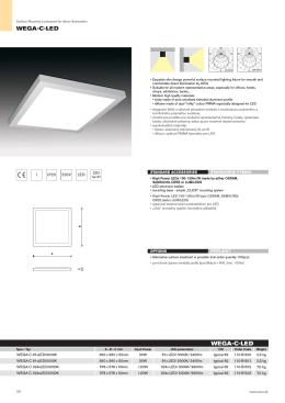 WEGA-C-LED WEGA-C-LED