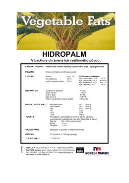 HIDROPALM - PARTNER