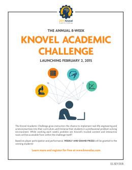 KNOVEL ACADEMIC CHALLENGE