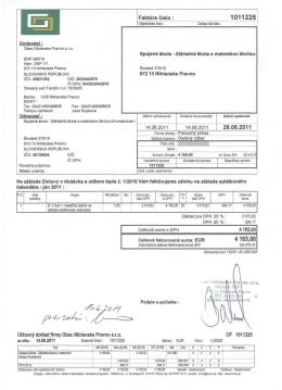 1011225 - Dodávka tepla 06/2011 - Spojená