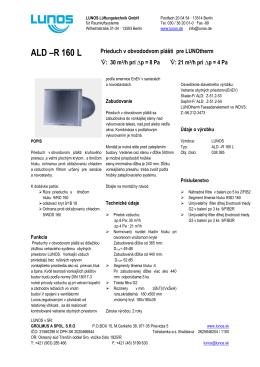 ALD –R 160 L
